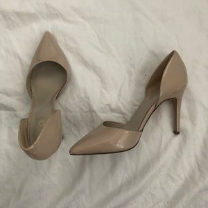 ✨ Nude Patent Pumps